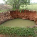 When the well is incomplete, how will the farming be completed?