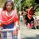 Jyoti-Kumari cycle girl