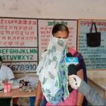 See how vaccination is being done during the Corona period at Anganwadi center