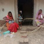 making crafts from waste