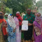 Vanagna institution submitted a memorandum on the demand of working women