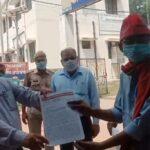 Fishermen reach DM office to demand reservation