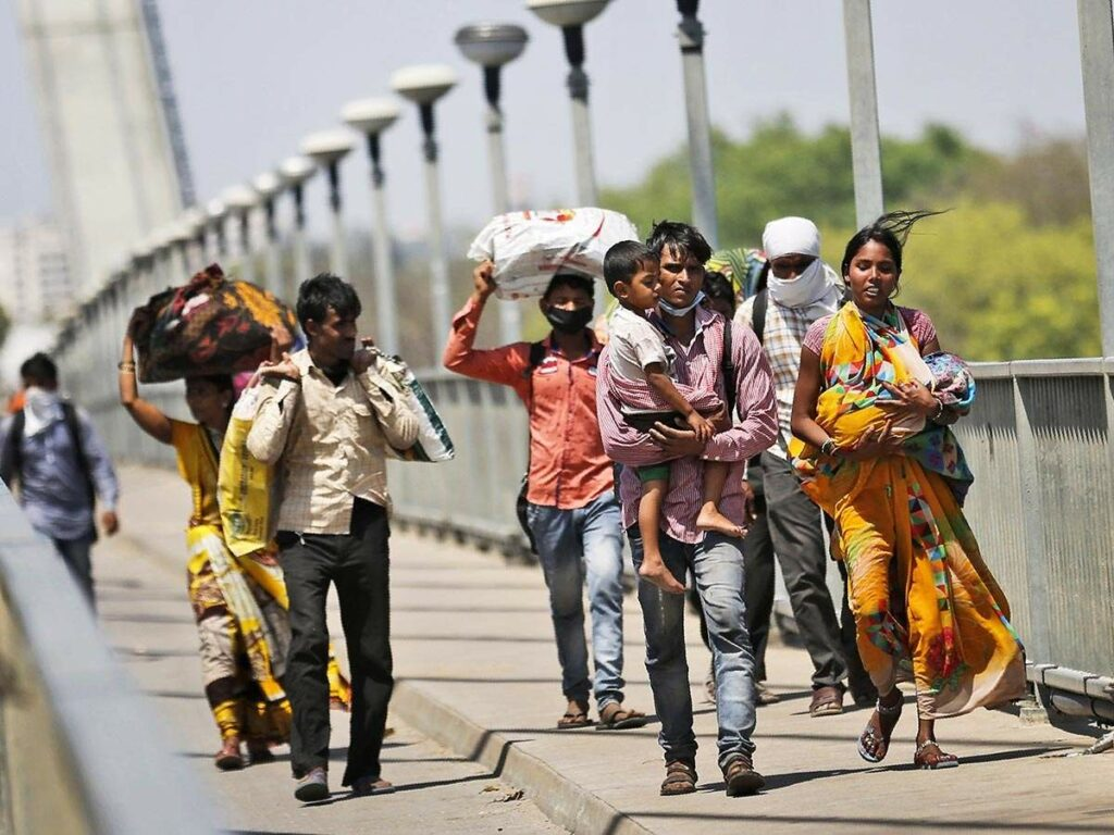 Railway services more for migrating workers