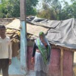 A shabby pillar is putting many families in danger