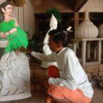 Childhood hobbies gave birth to art, became sculptor