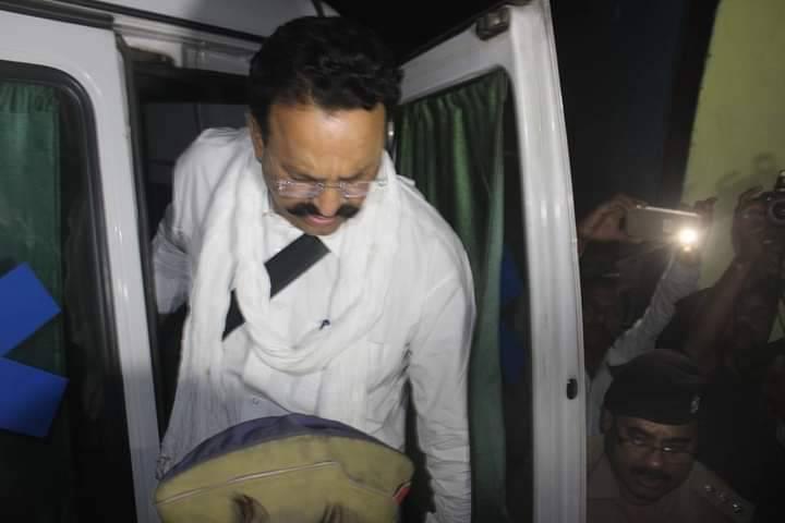 Now Mukhtar Ansari in Mandal Prison