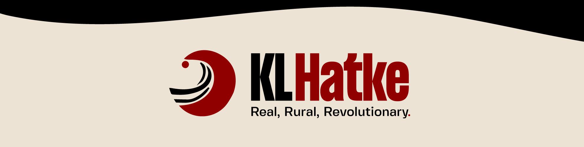 a banner image with KL Hatke logo